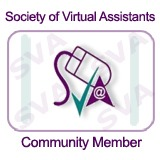 Proud Members of the Society of Virtual Assistants